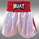 Muay-Short-Satijn-Wit-Rood