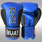 MUAY®-Premium-bokshandschoenen-Zwart-Blauw