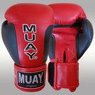 MUAY®-Premium-bokshandschoenen-Zwart-Rood