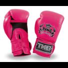Top-King-bokshandschoenen-Double-Velcro-NEON-Roze