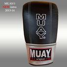 MUAY®-Punch-zakhandschoenen-met-open-duim-Zwart