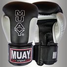 MUAY®-Premium-bokshandschoenen-Zwart-Zilver