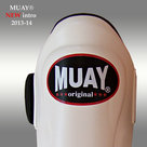 MUAY®-PRO-scheenbeschermers-shin-and-instep-Wit
