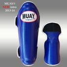 MUAY®-PRO-scheenbeschermers-shin-and-instep-Blauw