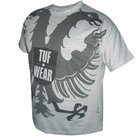 TUF-Wear-T-shirt-Big-Eagle-Grijs
