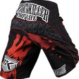 Stained Black Contract Killer MMA Shorts - S_