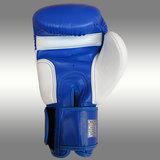 MUAY® Premium bokshandschoenen Blauw/Wit_