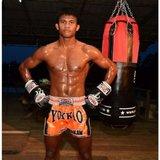 Yokkao Carbon Muay Thai Shorts Oranje - L_