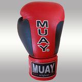 MUAY® Premium bokshandschoenen Zwart/Rood_9