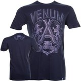"""Venum """"Jose Aldo Lion"""" T-Shirt- Blue_"""