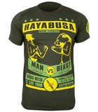 Hayabusa Gentleman Vs Beast T-Shirt Green_