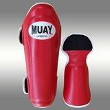 MUAY® PRO scheenbeschermers - shin and instep - Rood_