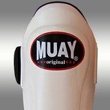 MUAY® PRO scheenbeschermers - shin and instep - Wit_