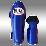 MUAY® PRO scheenbeschermers - shin and instep - Blauw_