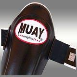 MUAY® PRO scheenbeschermers - shin and instep zwart_