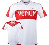 """Venum """"Competitor"""" Dry Tech™ T-shirt - Ice/Red_"""