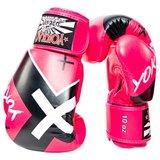 Yokkao X-Pink Muay Thai Bokshandschoenen_