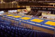 Agglorex Judomatten 100x100x2.5 cm.