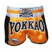 Yokkao Carbon Muay Thai Shorts Oranje - L
