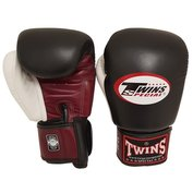 Twins BGVL4 bokshandschoenen rood zwart wit