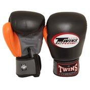 Twins BGVL4 bokshandschoenen zwart grijs oranje