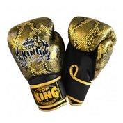 Top King bokshandschoenen Snake Gold Air - zwart
