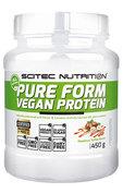 Scitec Nutrition Pure Form VEGAN Protein - HAZELNOOT/TOFFEE