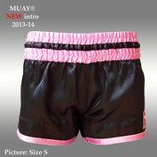 MUAY short Rhun San ZWART/ROZE