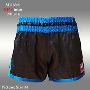 MUAY short Rhun San ZWART/BLAUW