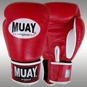 MUAY® bokshandschoenen Rood/Wit