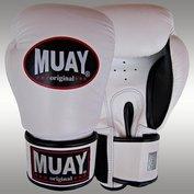 MUAY® bokshandschoenen Wit/Zwart