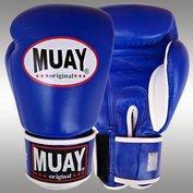 MUAY® bokshandschoenen Blauw/Wit
