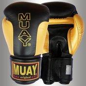 MUAY® Premium bokshandschoenen Zwart/Goud