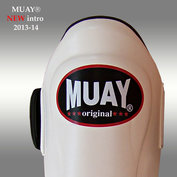 MUAY® PRO scheenbeschermers - shin and instep - Wit