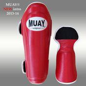 MUAY® PRO scheenbeschermers - shin and instep - Rood