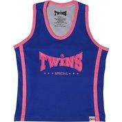 Twins Top Blauw / Roze