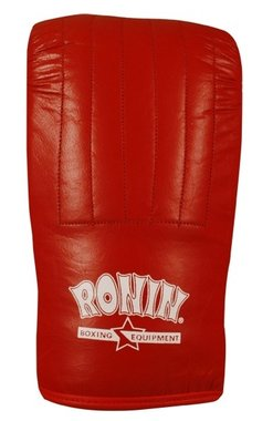 Ronin 'Punch Regular' zakhandschoenen - Rood of Zwart