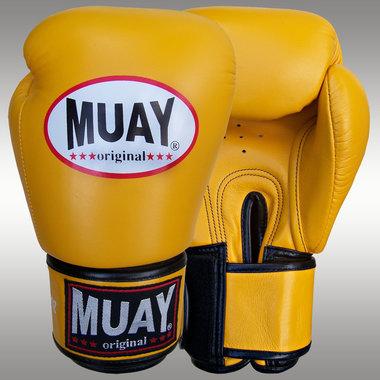 MUAY® bokshandschoenen Geel