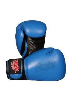 Bokshandschoenen Ronin 'FIGHTER' Blauw/Zwart