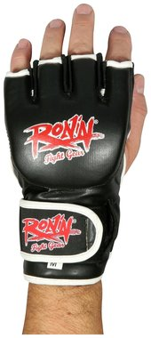 Ronin Kick Bag MMA handschoenen - Zwart