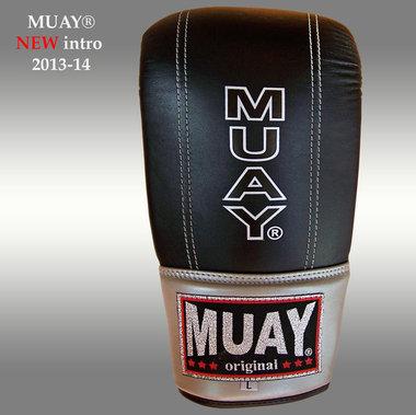 MUAY® Punch zakhandschoenen met open duim Zwart
