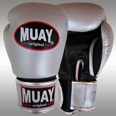 MUAY® bokshandschoenen Zilver/Zwart