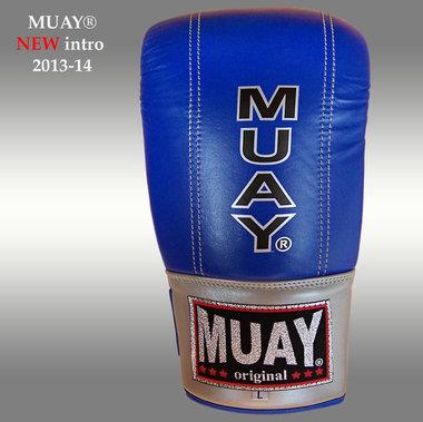 MUAY® Punch zakhandschoenen met open duim Blauw