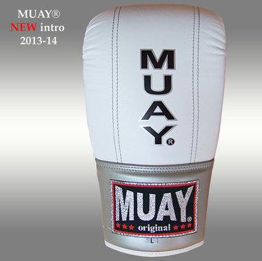 MUAY® Punch zakhandschoenen met open duim Wit