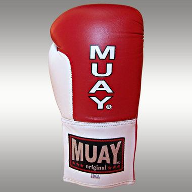 MUAY® wedstrijd handschoenen - Rood