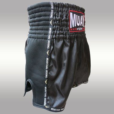 MUAY SHORT WICKED ZWART