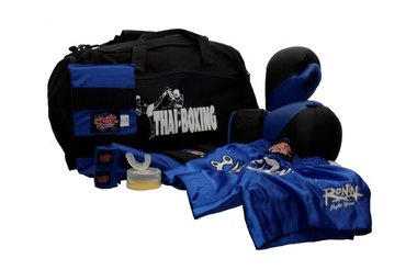 RONIN BOKSTRAININGSSET JUNIOR - BLAUW