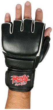 RONIN PU MMA HANDSCHOEN - ZWART/WIT