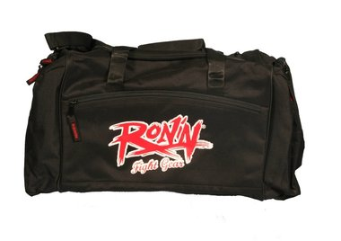 RONIN FIGHT GEAR SPORTTAS LOGO - ZWART