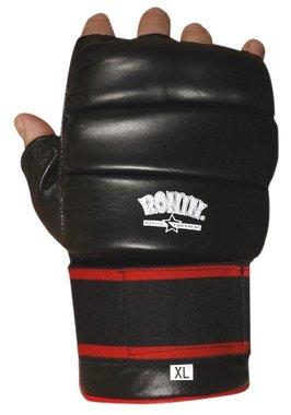 RONIN 1ST GEN MMA FREE-STYLE HANDSCHOEN KLITTENBAND - ROOD OF ZWART